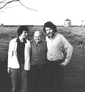 George Hawkins with Gus Meade and Nancy McLellan